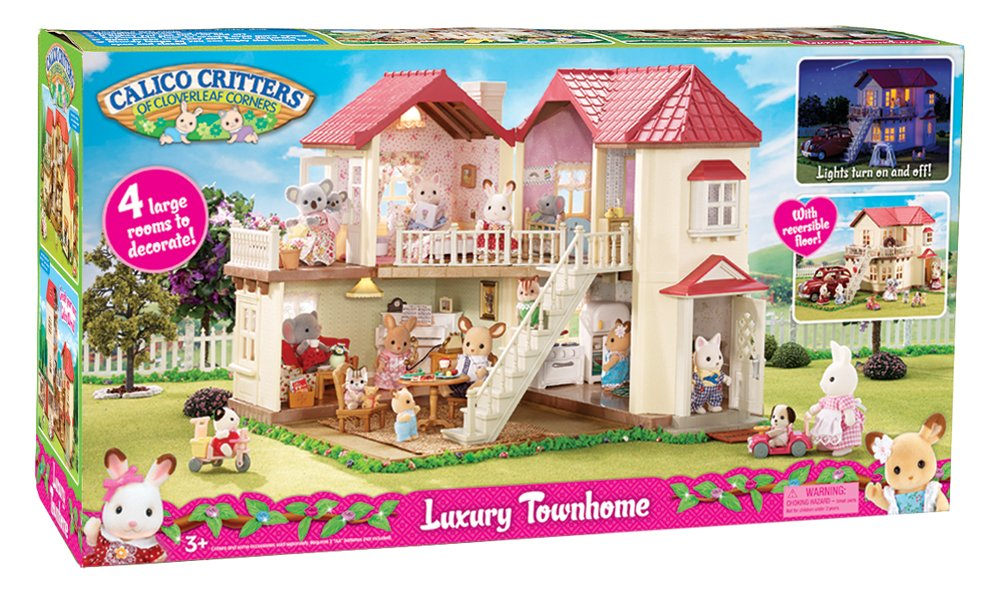 Amazon.com: Calico Critters Townhome: Toys & Games