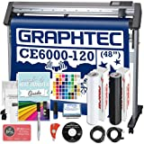 Graphtec Plus CE6000-120 48 Inch Professional Vinyl Cutter with Bonus Oracal 651, 2100 in Software, and 2 Year Warranty