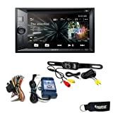 Sony XAV-W651BT CD/DVD Receiver with Bluetooth, Steering Wheel Control Interface and Back Up Camera (Tamaño: Double DIN)