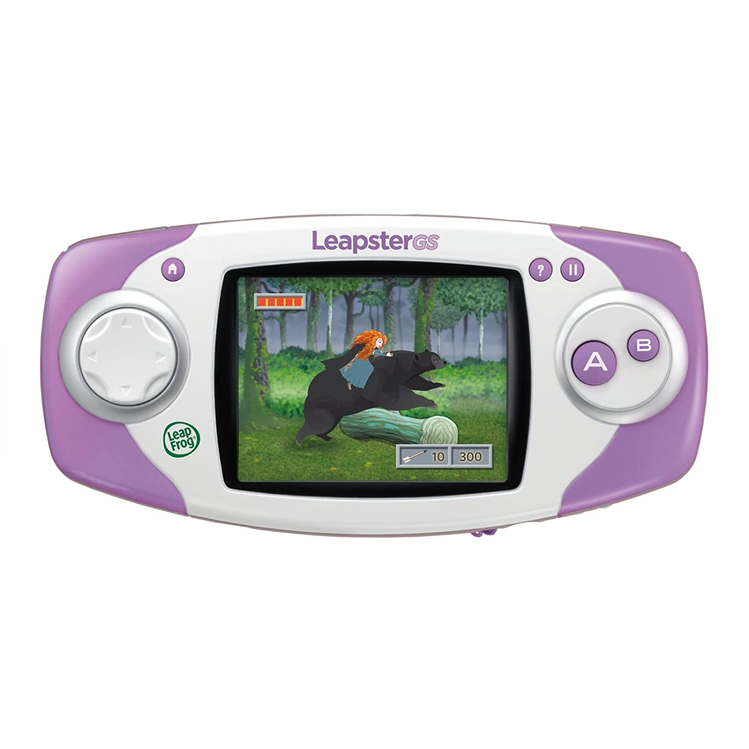 LeapFrog SpongeBob SquarePants: The Clam Prix Learning Game (works with LeapPad Tablets, Leapster GS, and Leapster Explorer).