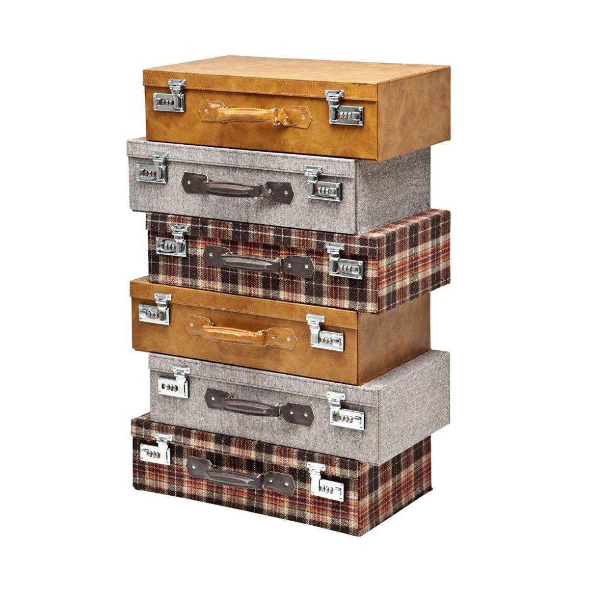 Kare 77520 Kommode Highlands Suitcase 6SK  Bewertungen