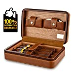 Scotte Portable Travel Cigar Humidor Case