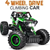 DOUBLE E 4 Wheel Drive Electric Remote Control Car 1:12 Scale Dual Motors Rechargeable Remote Control Monster Truck Off-road RC Car