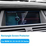 TTCR-II for BMW X1 X3 X4 X5 X6 Z4 Series Navigation Display Screen Protector Foil, Anti-Explosion Touch Screen Protector Films[0.3mm,9H],Tempered Glass Console GPS Screen Protector[8.8
