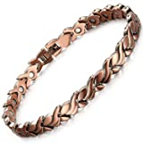 Rainso Womens Magnetic Copper Bracelets for Arthritis Wristband