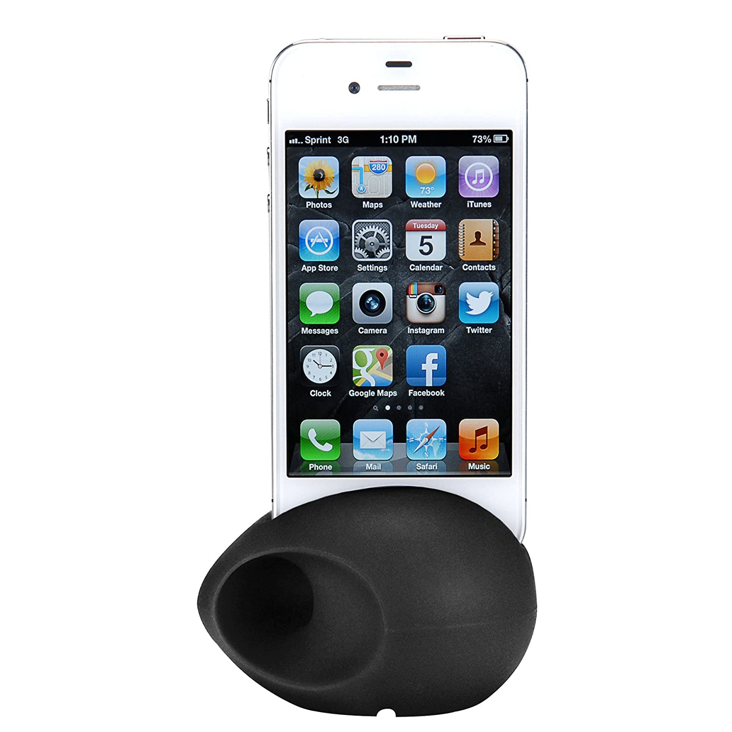 Parts Express Sound EGG Audio Booster and Stand for iPhone 4/4S Black touchstone teacher s edition 4 with audio cd