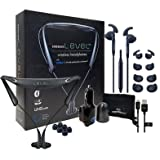 Samsung Level U Pro Neckband Wireless Bluetooth (UHQ Sound) Exclusive Samsung Active Headset + Neztech Wall/Car Charger (Retail Packing Kit) (Color: Level U Pro + 2100Battery Kit)