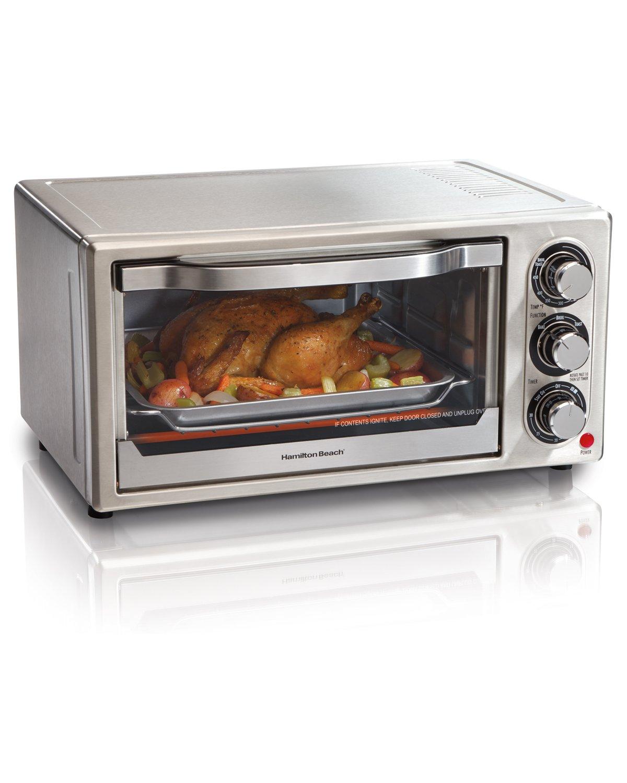 Hamilton Beach Convection 6-Slice Toaster Oven