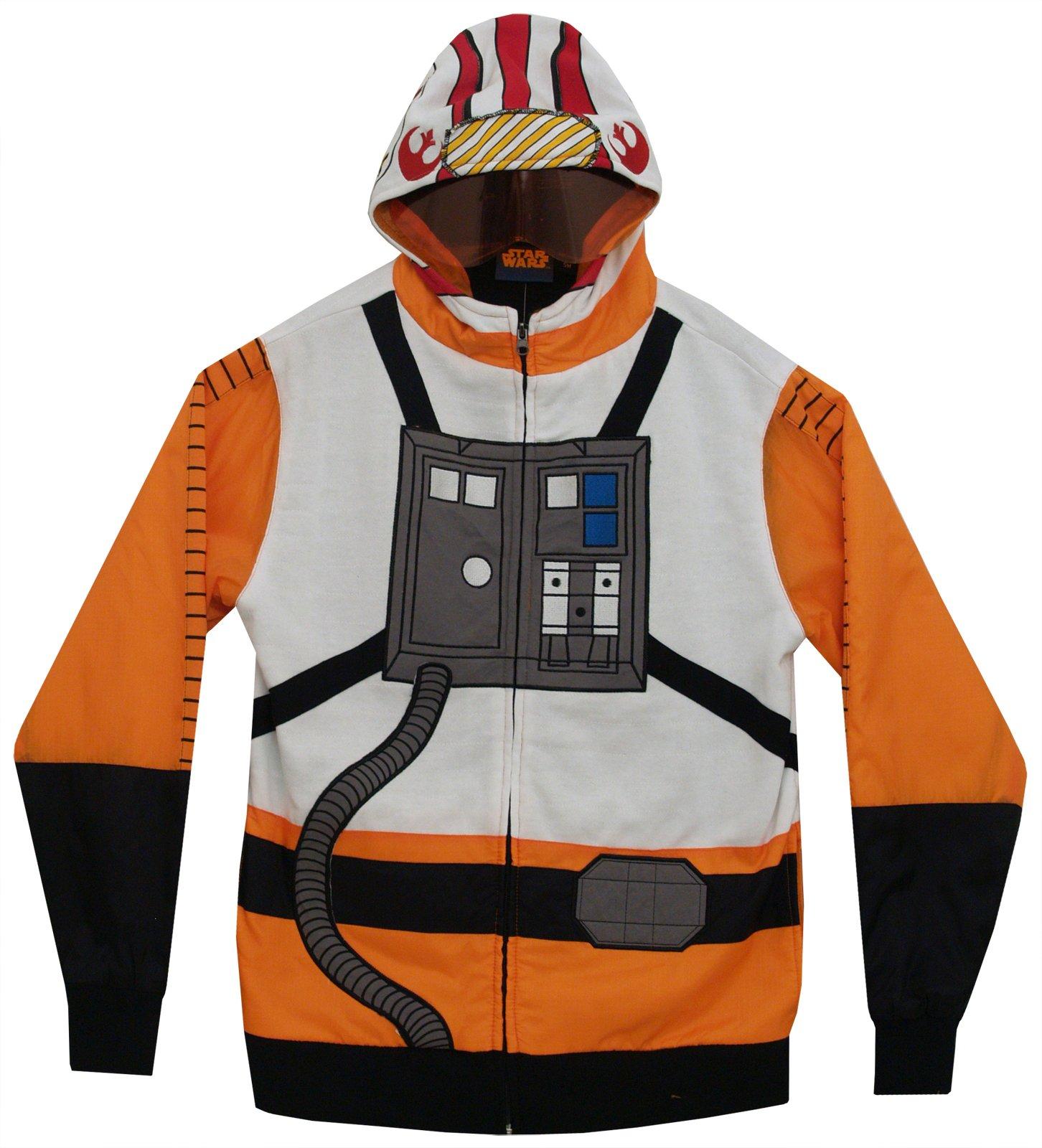 Star Wars I Am Red 5 Costume Zip Up Hoodie Sweatshirt