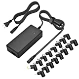 90w Universal Ac Laptop Charger Power Adapter for Hp Compaq Dell Acer Asus Toshiba IBM Lenovo Samsung Sony Fujitsu Gateway Notebook Ultrabook by Sopito (Color: Laptop charger universal)