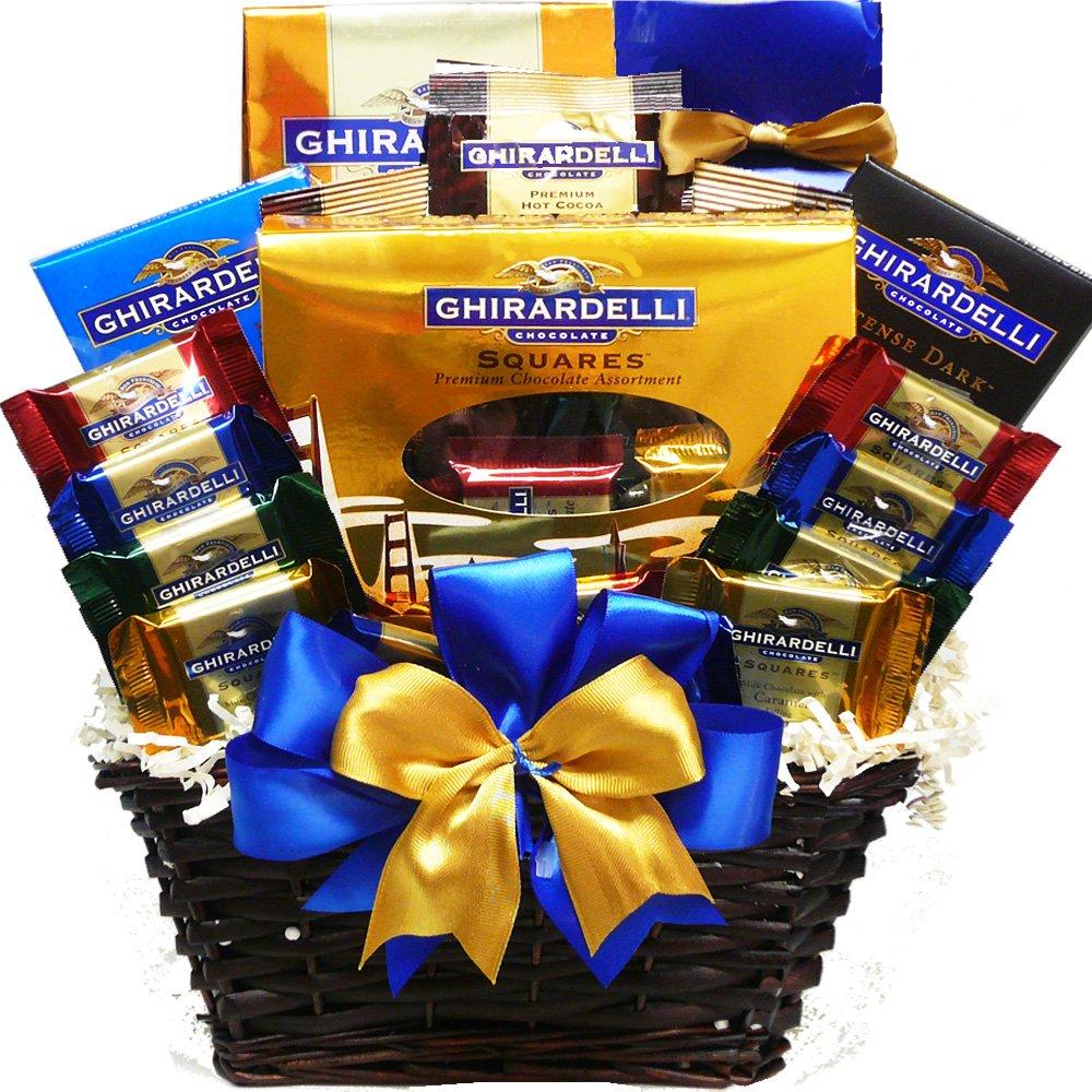 Arte de cestas Presente da apreciação Ghirardelli Chocolate Lovers