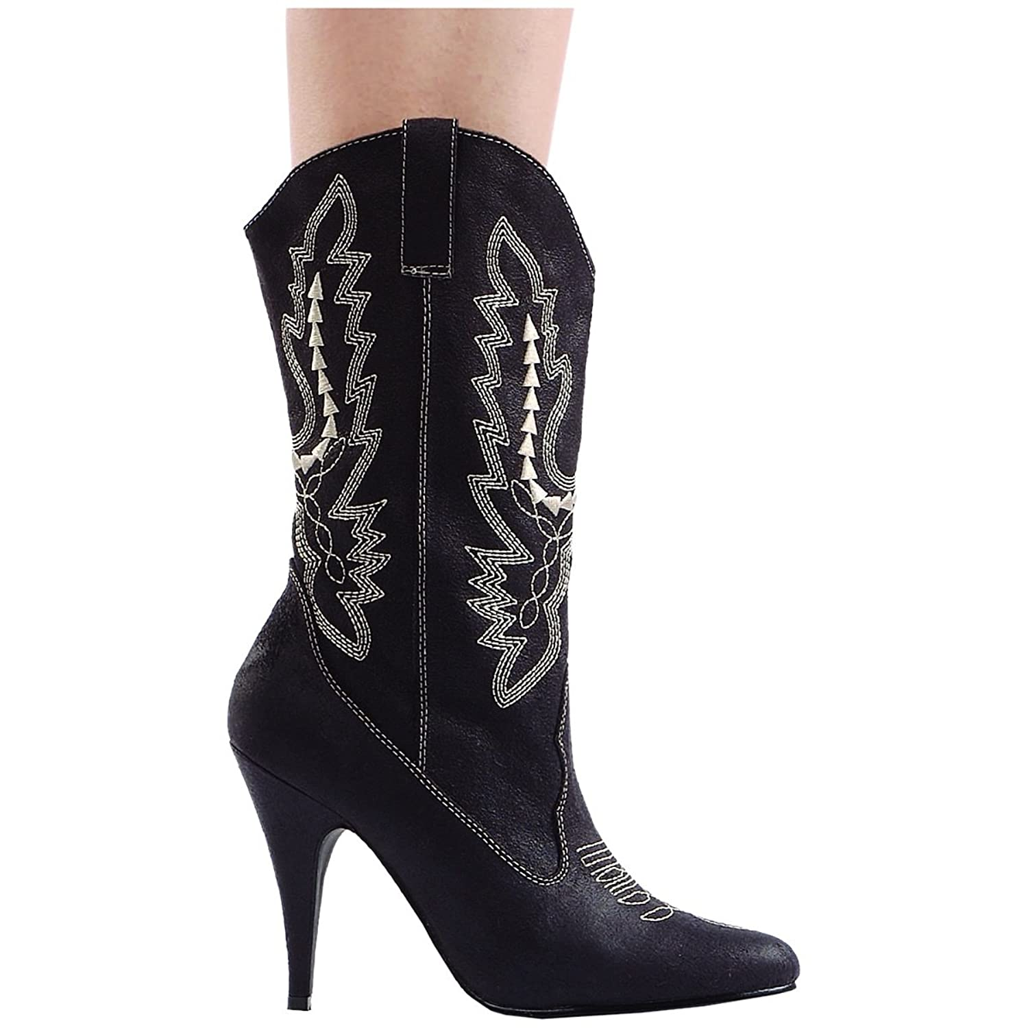womens black western cowgirl boots cowboy 200 sizes 6
