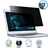 15.6 Laptop Privacy ScreenFilter, Anti-Glare/Anti Scratch Laptop Screen Protector for Widescreen Laptops Display 16:9 (Color: 15.6in)