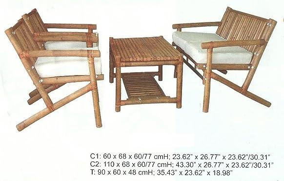 Giardino Mobili da giardino set caffè Set Balcone Balcone Set Sedia Mobili in legno per arredo esterno, gruppo