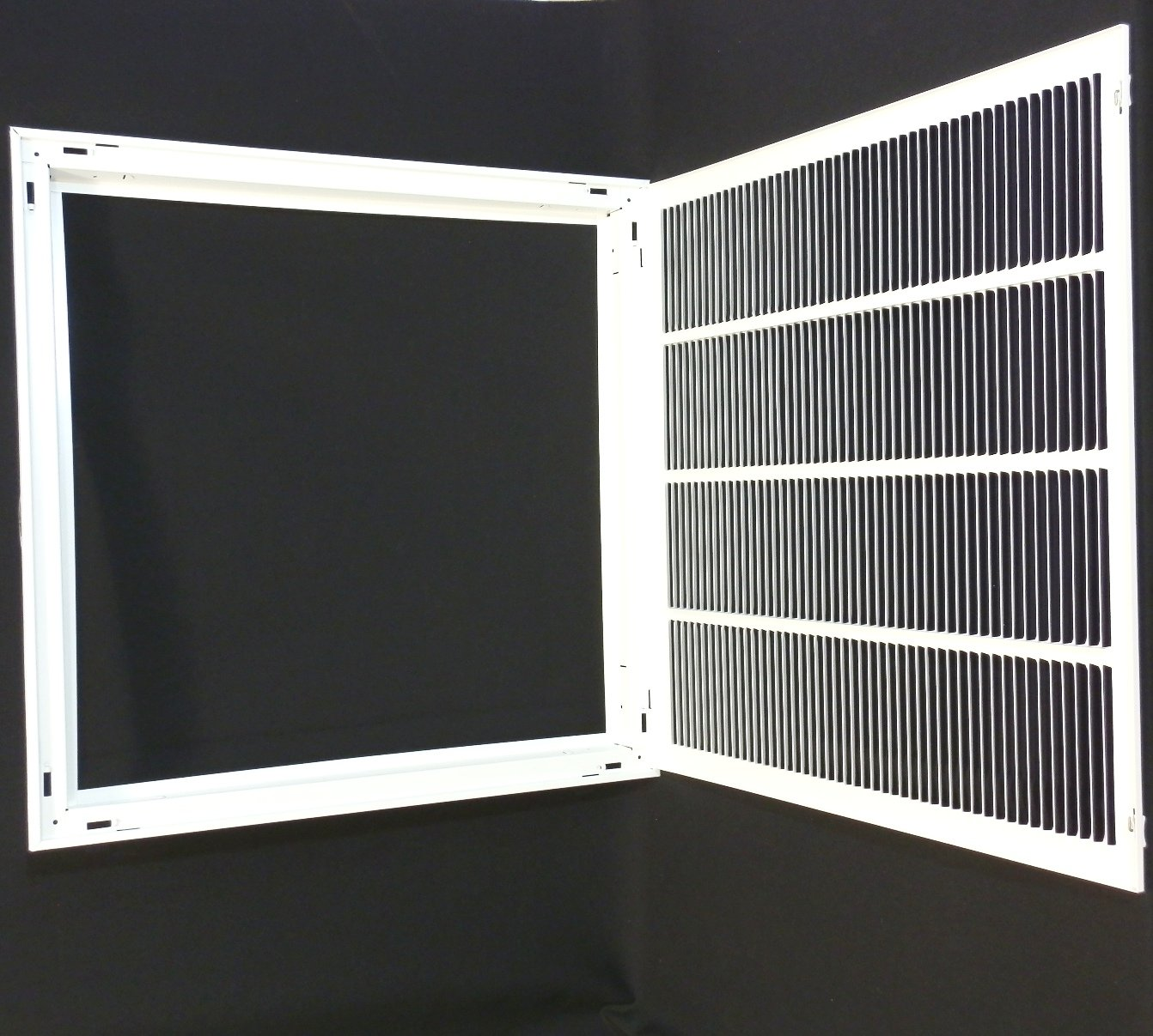 Hvac Return Air Grill : W quot h return filter grille hvac dcut cover flat