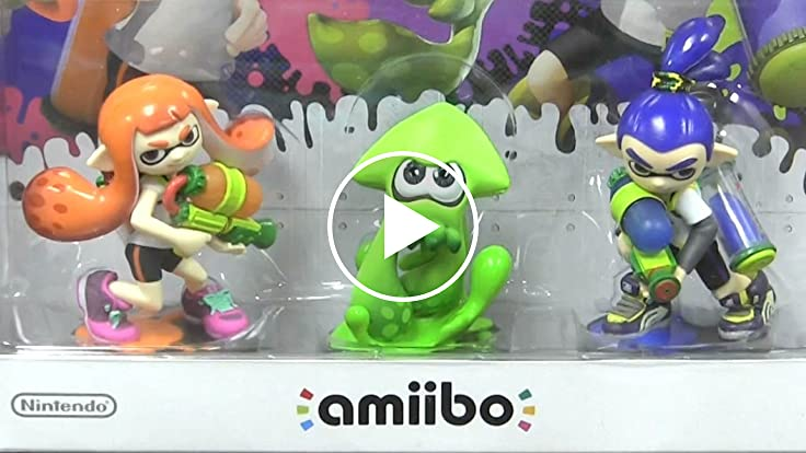 Cgr Undertow Splatoon Amiibo 3 Pack Review For Nintendo