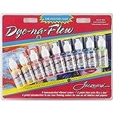 Jacquard JAC9908 Dye-Na-Flow Exciter 9-Colors (Color: Multi, Tamaño: 0.5 ounce)