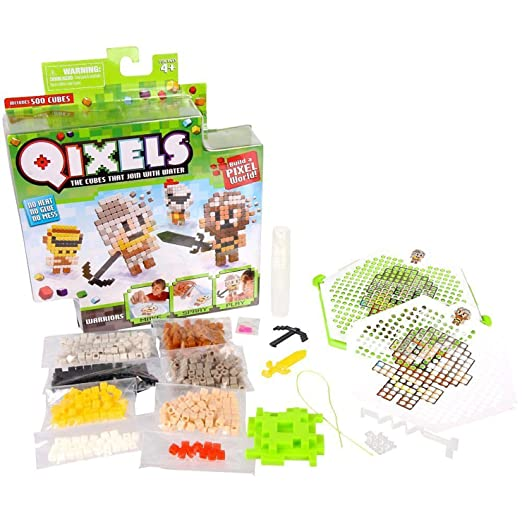 This is on my Wish List: Qixels Theme Refill Pack - Warriors: Toys & Games