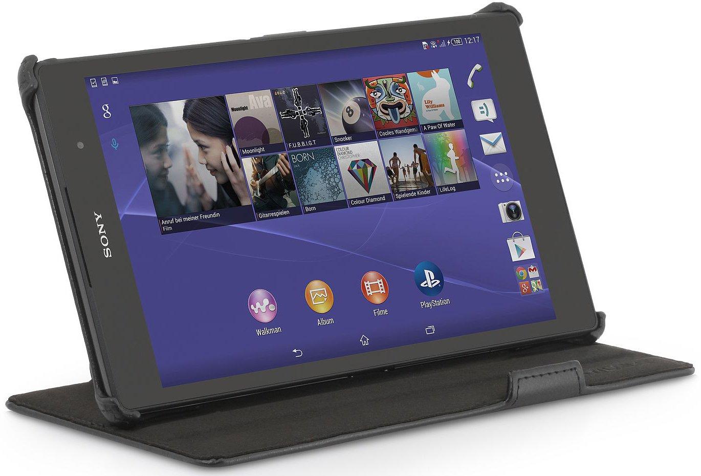 StilGut ® UltraSlim, funda con función de soporte para Sony Xperia Z3 Tablet Compact, en negro, segunda elección  Electrónica Comentarios de clientes y más Descripción