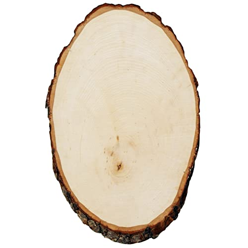 Walnut Hollow Rustic Basswood Round Extra Large