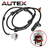 AUTEX ALS1814 ABS Wheel Speed Sensor Left/Right Rear compatible with Nissan Rogue 2008 2009 2010 2011 2012 2013 2.5L ONLY AWD