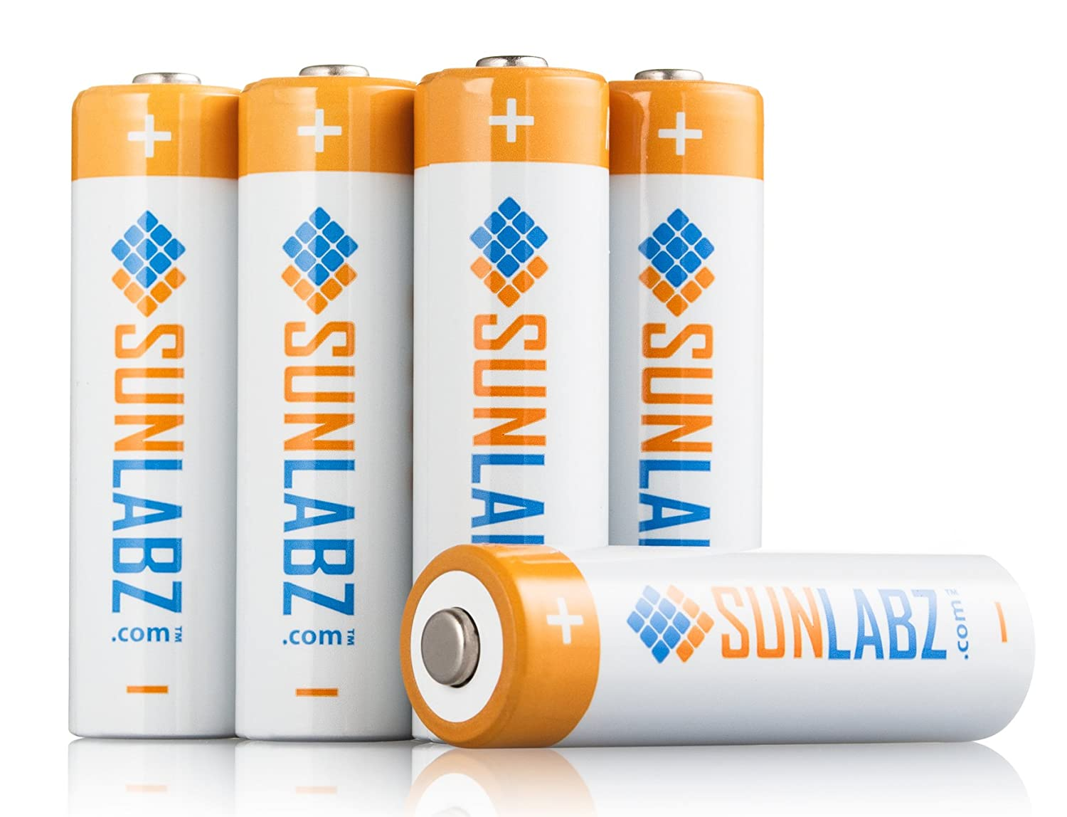 SunLabz Rechargeable Batteries (AA 1000 mAh NiCD 16 Pack)