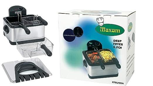 Maxam                                     6qt Electric Deep Fryer