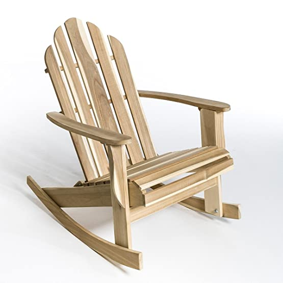 Am.Pm Rocking Chair De Jardin Theodore, Style Adirondack Taglia 1 Beige