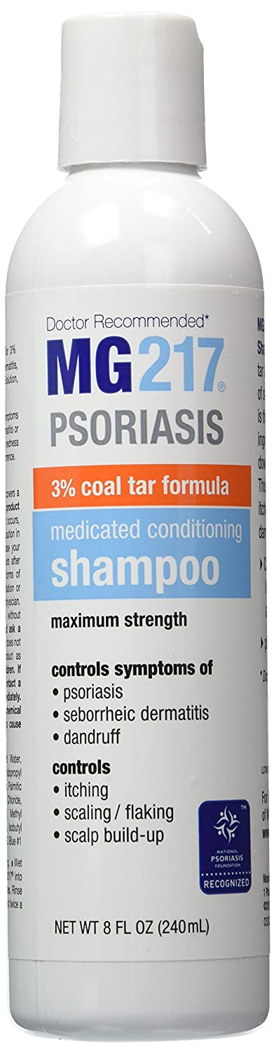 PRODUCTS MG 217 Medicated Coal Tar Shampoo for Psoriasis, 8 Fluid Ounce 1