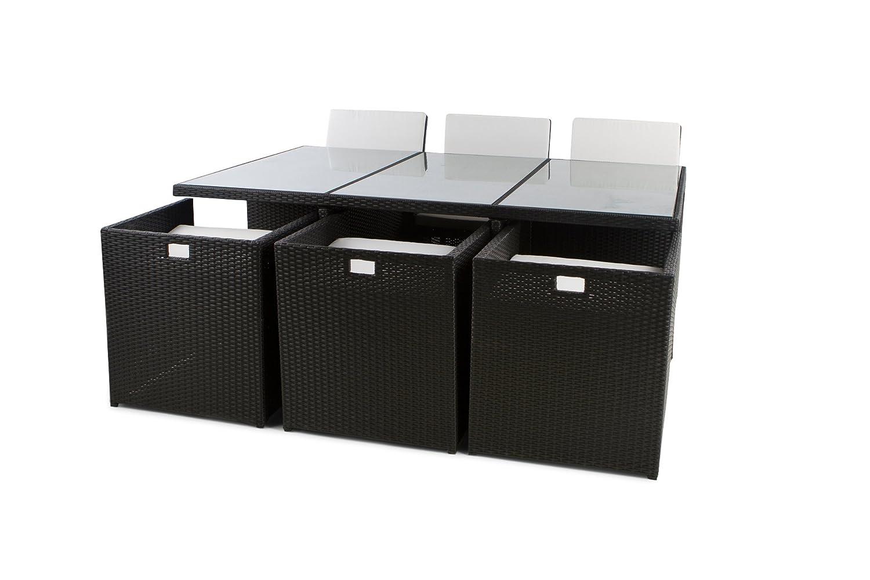 Rattanmöbel Sitzgruppe NASSAU XXL Medium 175×115 cm | 5,5cm Polster (Braun) günstig kaufen