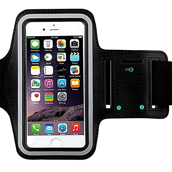 reputable site 07ed0 a4904 Universal Water Resistant Sports Armband,iBarbe,case Bundle with ...
