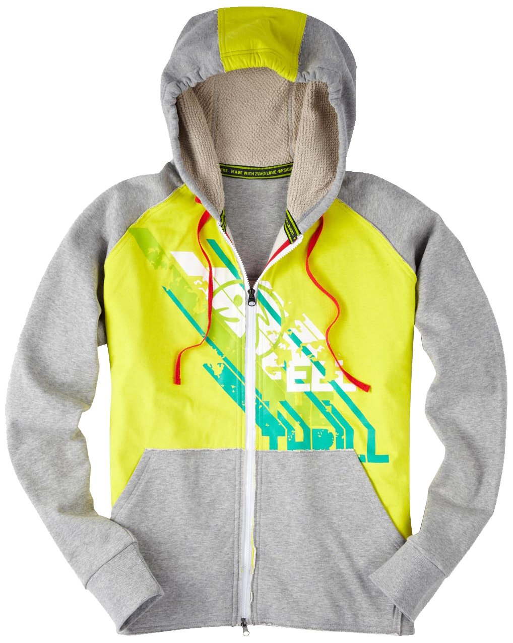 Zumba Fitness The Thrill Zip Up Hoodie