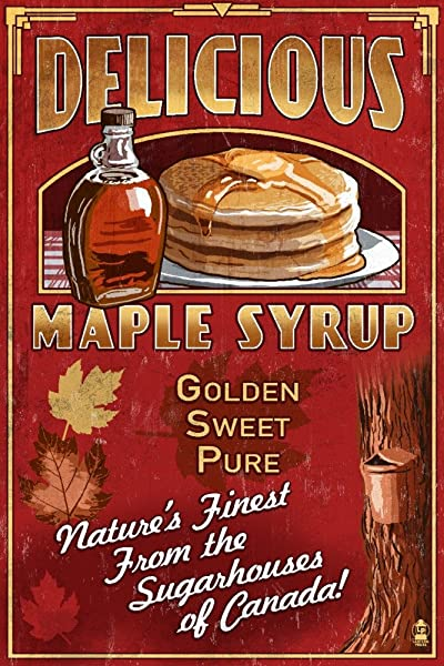 Vintage Maple Syrup Sign