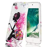 iPod Touch 7 Case,iPod Touch 6 Case,Shell Marble Design High Impact Silicone Anti-Scratch &Fingerprint Shock Proof Ultra Thin Non Slip Cover Protective Case for Apple iPod Touch 5/6/7th Generation (Color: pattern 1)