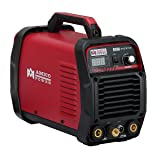 TIG-225, 220 Amp High Frequency TIG, Stick ARC 2-IN-1 Welder 110/230V Dual Voltage Welding (Color: Red, Tamaño: Full Size)