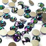 144 pcs CRYSTAL PARADISE SHINE (001 PARSH) Swarovski 2058 Xilion 9ss Flat backs rhinestones nail art 2.6mm ss9 **FREE Shipping from Mychobos (Crystal-Wholesale)**