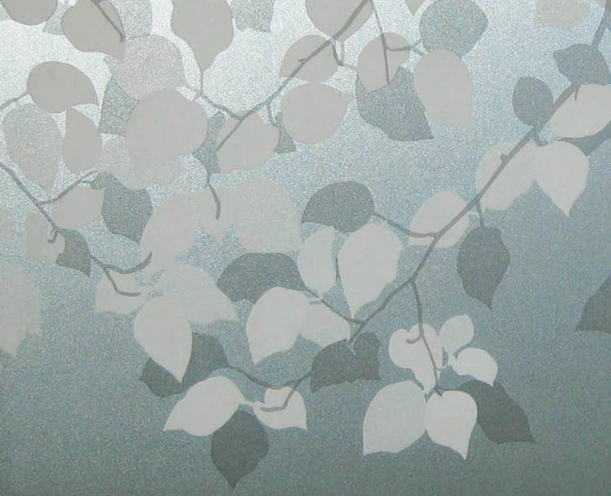 LINEA Fix Dekorfolie statische Fensterfolie Babilon Blätterranken Größenauswahl  0.46m x 9 m   Kritiken und weitere Infos
