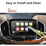 LFOTPP 2018 Chevrolet Equinox 8 Inch Car Navigation Screen Protector Glass,Clear Tempered Glass Infotainment Protector Against Scratch High Clarity