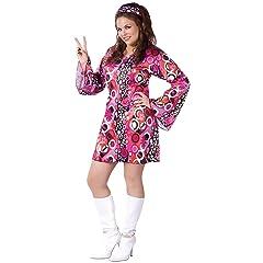 FunWorld Womens Feelin Groovy Costume