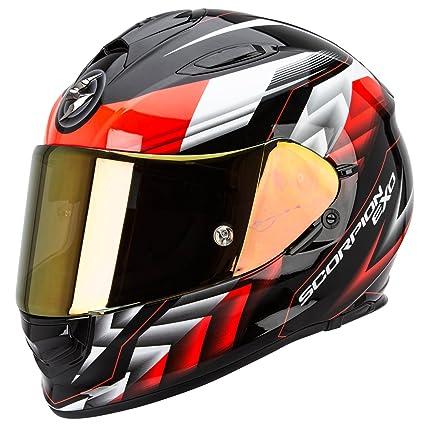 SCORPION 51-194-160-06 Casque de Moto, Multicolore, Taille XL