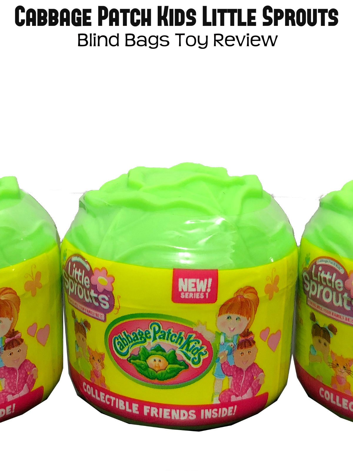 Review: Cabbage Patch Kids Little Sprouts Blind Bags Toy Review