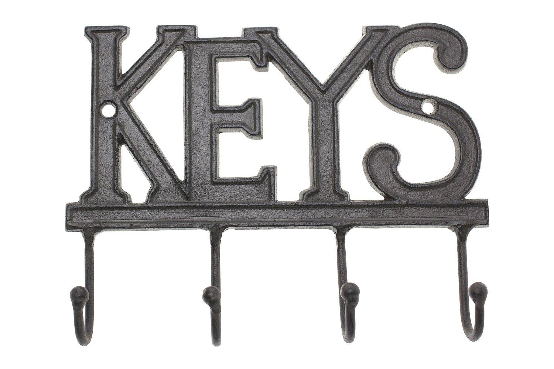 Key Holder Keys Wall Mounted Western Key Holder 4 Key