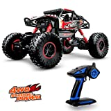 Geekper 1:16 Scale Electric RC Car Off Road Vehicle 2.4GHz Radio Remote Control Car 4WD High Speed Racing Monster Truck with 1 Rechargeable Battery