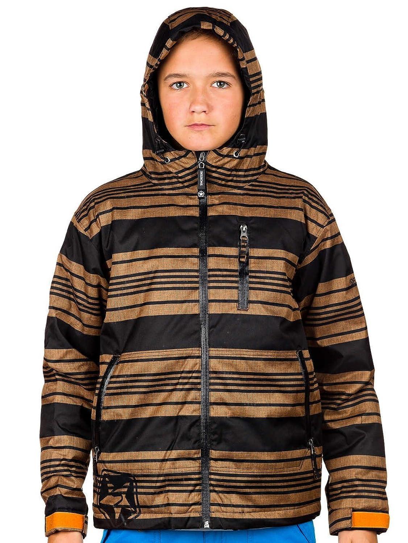 Kinder Snowboard Jacke Sessions Techy Heather Stripe Jacket Youth online kaufen