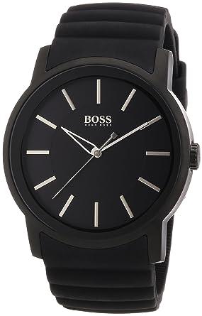 b2894962049 Sale Hugo Boss - 1512742 - Montre Homme - Quartz Analogique - Cadran - Bracelet  Silicone ...