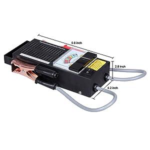 CARTMAN Loading Battery Tester 6V/12V (Tamaño: Loading Tester)