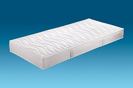 Hn8-Schlafsysteme 'Jasmin Pro' 7-Zonen-Tonnen-Taschenfederkern extra feste Ausfuhrung Härtegrad H4, Größen Matratzen:80 x 200 cm