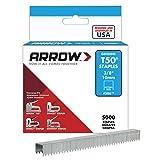 Arrow Fastener 506IP Genuine T50 3/8-Inch Staples, 5,000-Pack
