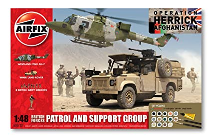 Airfix - A50123 - Maquette - British Forces - Patrol And Support Group
