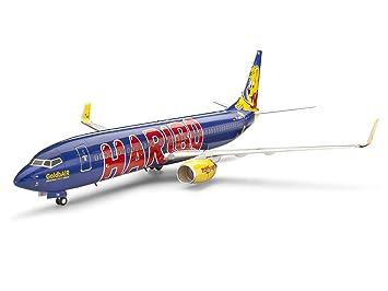 Revell - 4268 - Maquette Classique à Peindre et à Coller - Boeing 737-800 HARIBO Ours d'Or